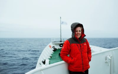 THE DRAKE PASSAGE STRIKES AGAIN: #TEAMHB CORRESPONDENT MARIE CLARK