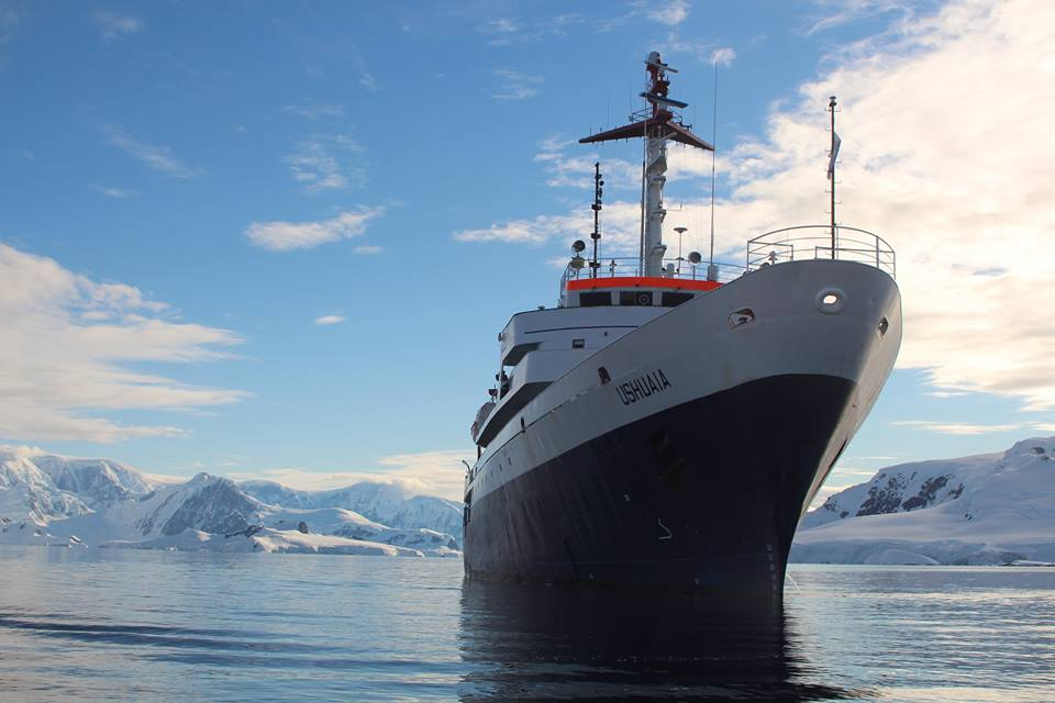 Life on the Ushuaia (not a luxury cruise!): Fabian Dattner