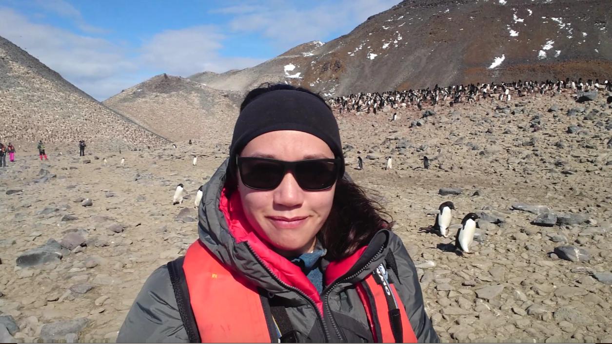Reflexion on my voyage from the tropics to Antarctica: Yalimay Jiménez
