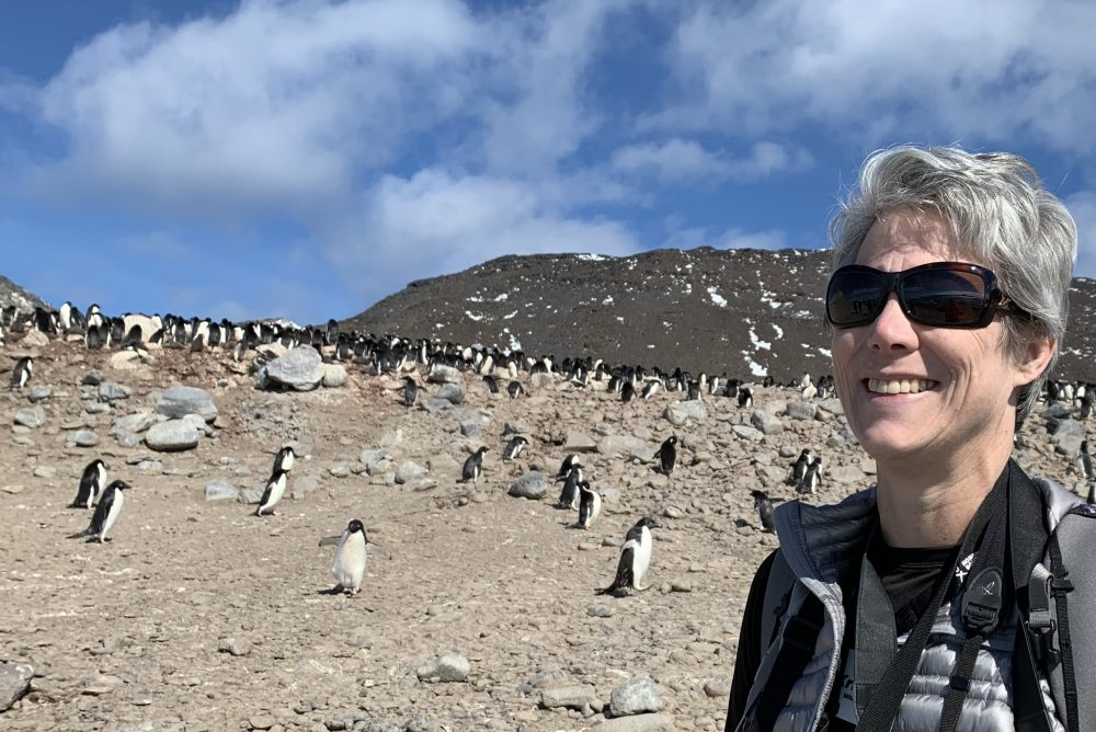 Practicing Yoga in Antarctica: Kristin Mitchell